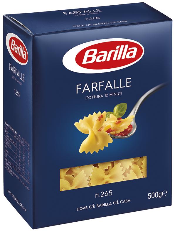 FARFALLE 265 BARILLA 500G