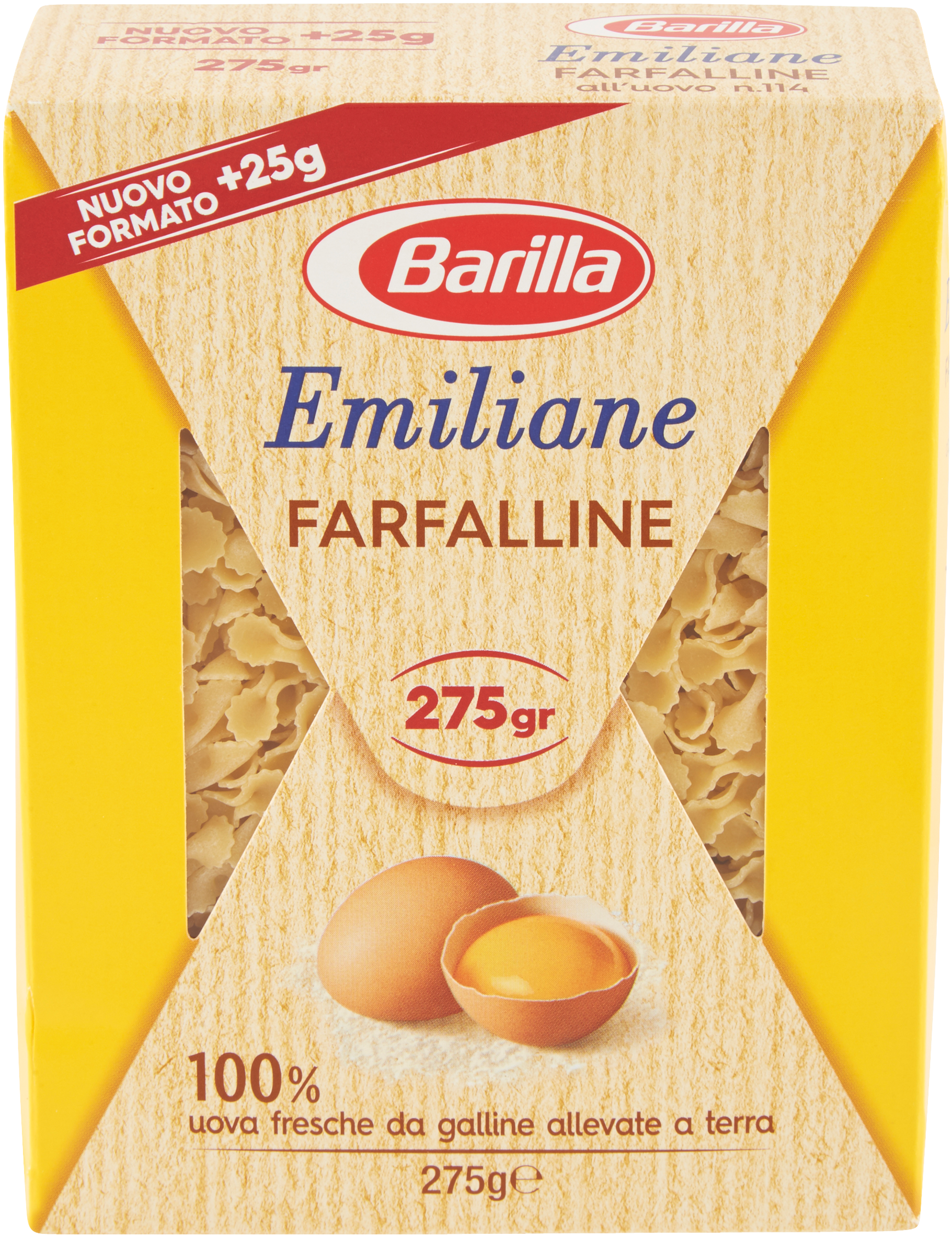 FARFALLINE UOVO 114 BARILLA 275G