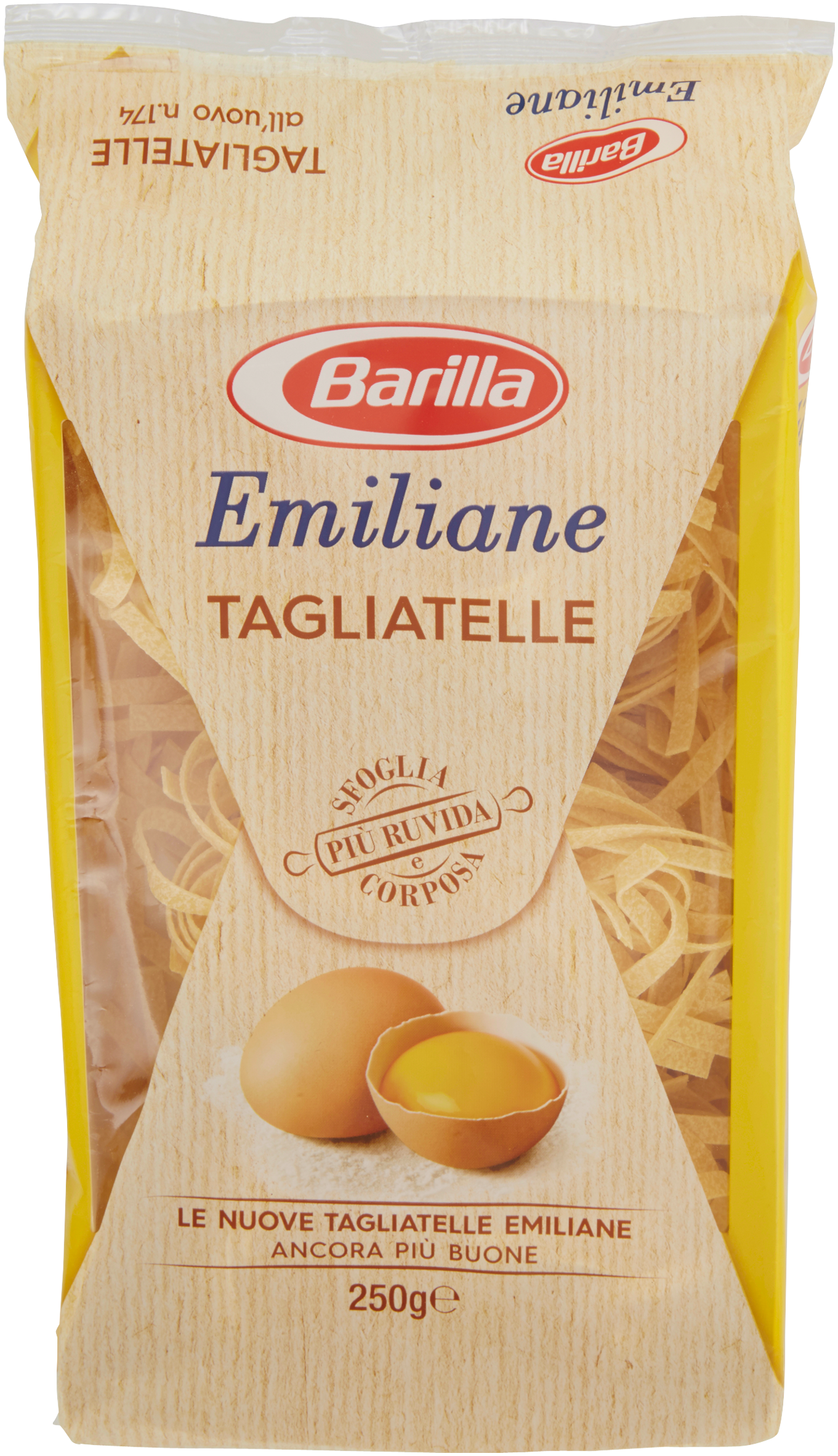 Barilla Emiliane Tagliatelle all'uovo 250g