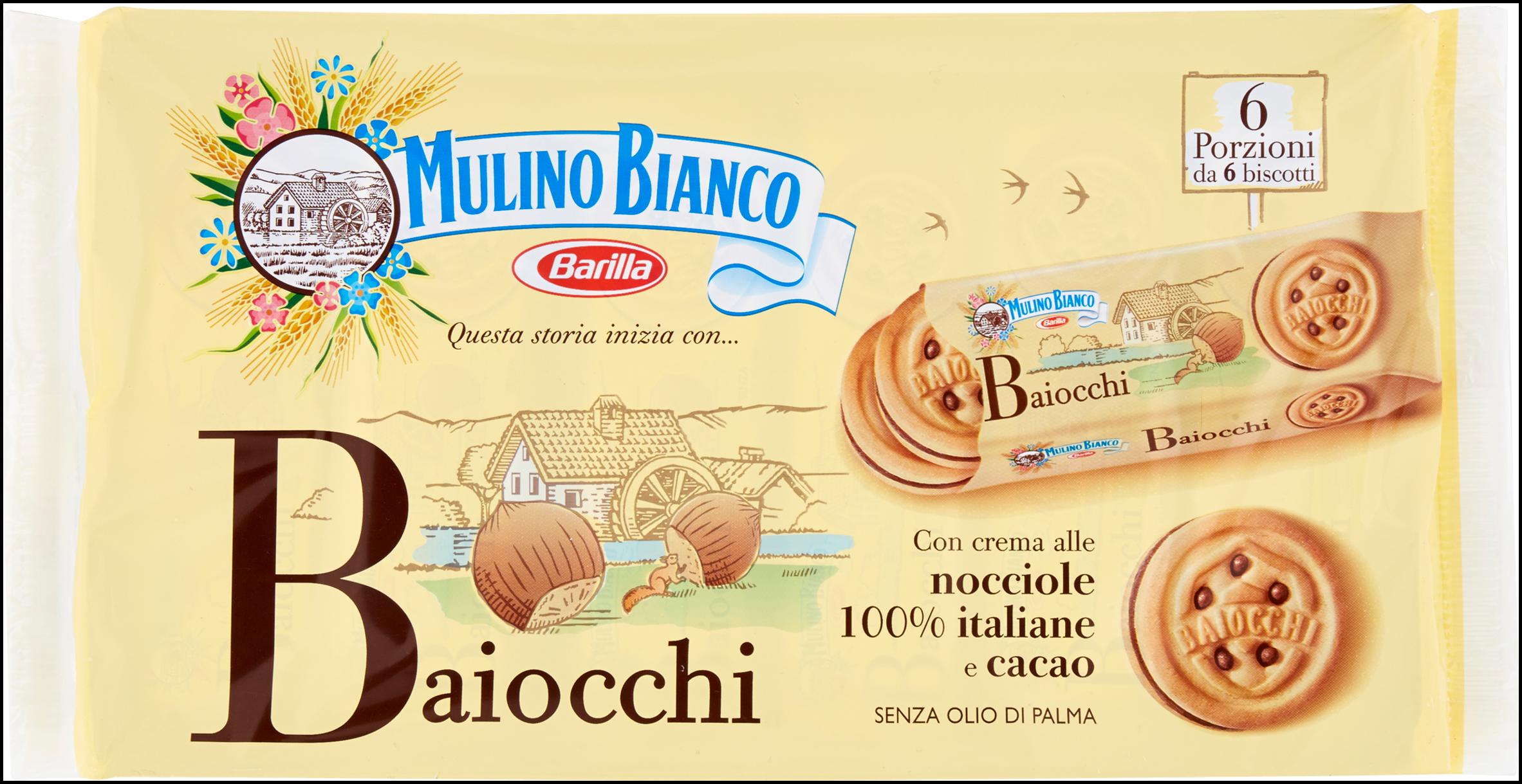 BAIOCCHI MULINO BIANCO 336G NOCCIOLA
