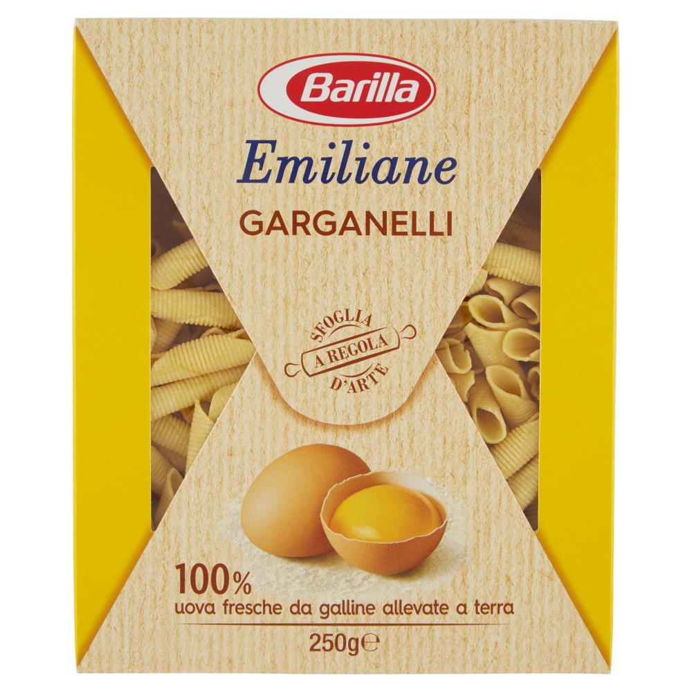 Barilla Emiliane Garganelli 250 g