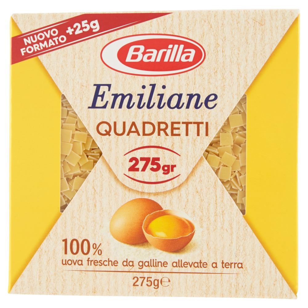 Barilla Emiliane Quadretti all'Uovo 275 g