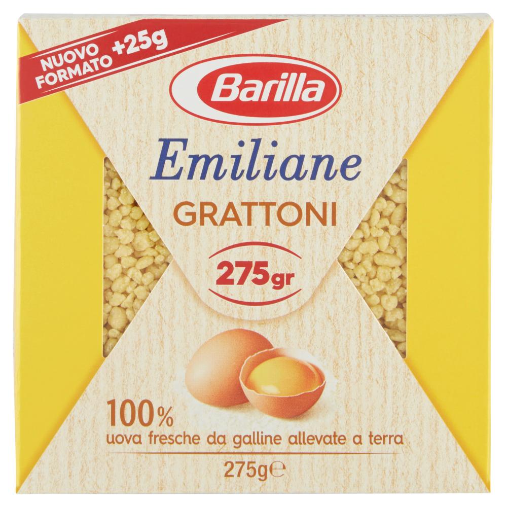 Barilla Emiliane Grattoni all'Uovo 275 g