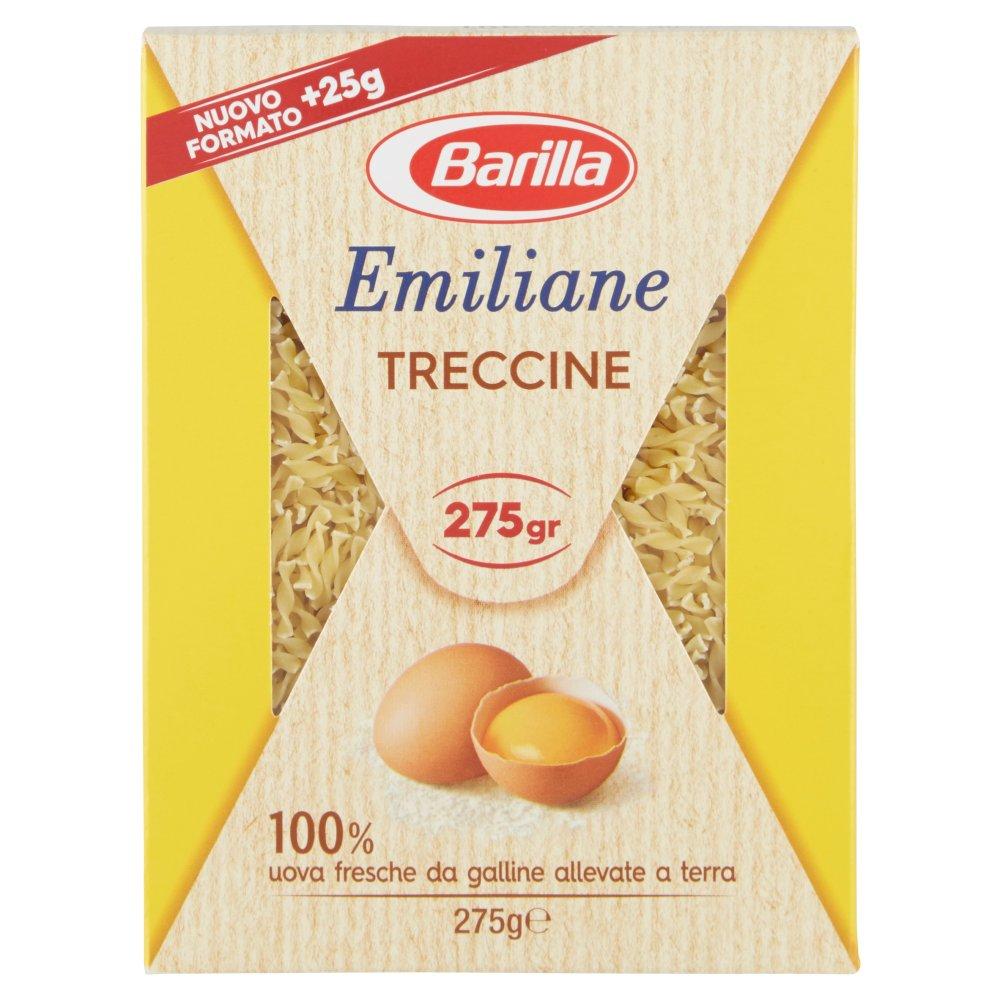 Barilla Emiliane Treccine all'Uovo 275 g