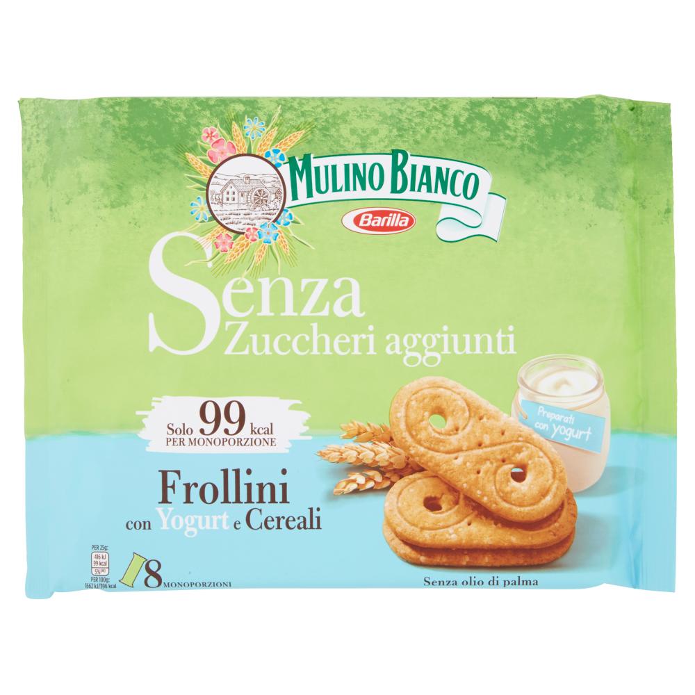 Mulino Bianco Frollini con Yogurt e Cereali Senza Zuccheri Aggiunti 200g
