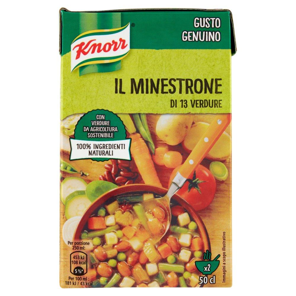 Knorr il Minestrone di 13 Verdure 500 ml