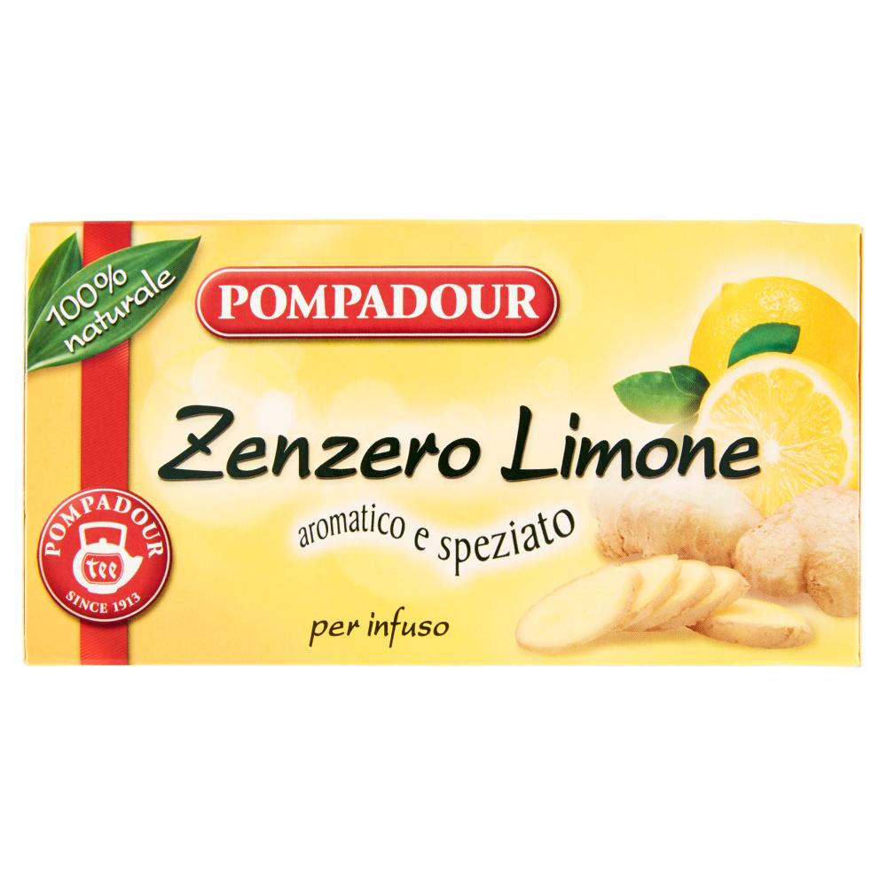 Pompadour Zenzero limone per infuso 36 g