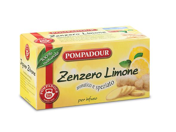 INFUSO POMPADOUR 36G ZENZERO/LIMONE 20FL