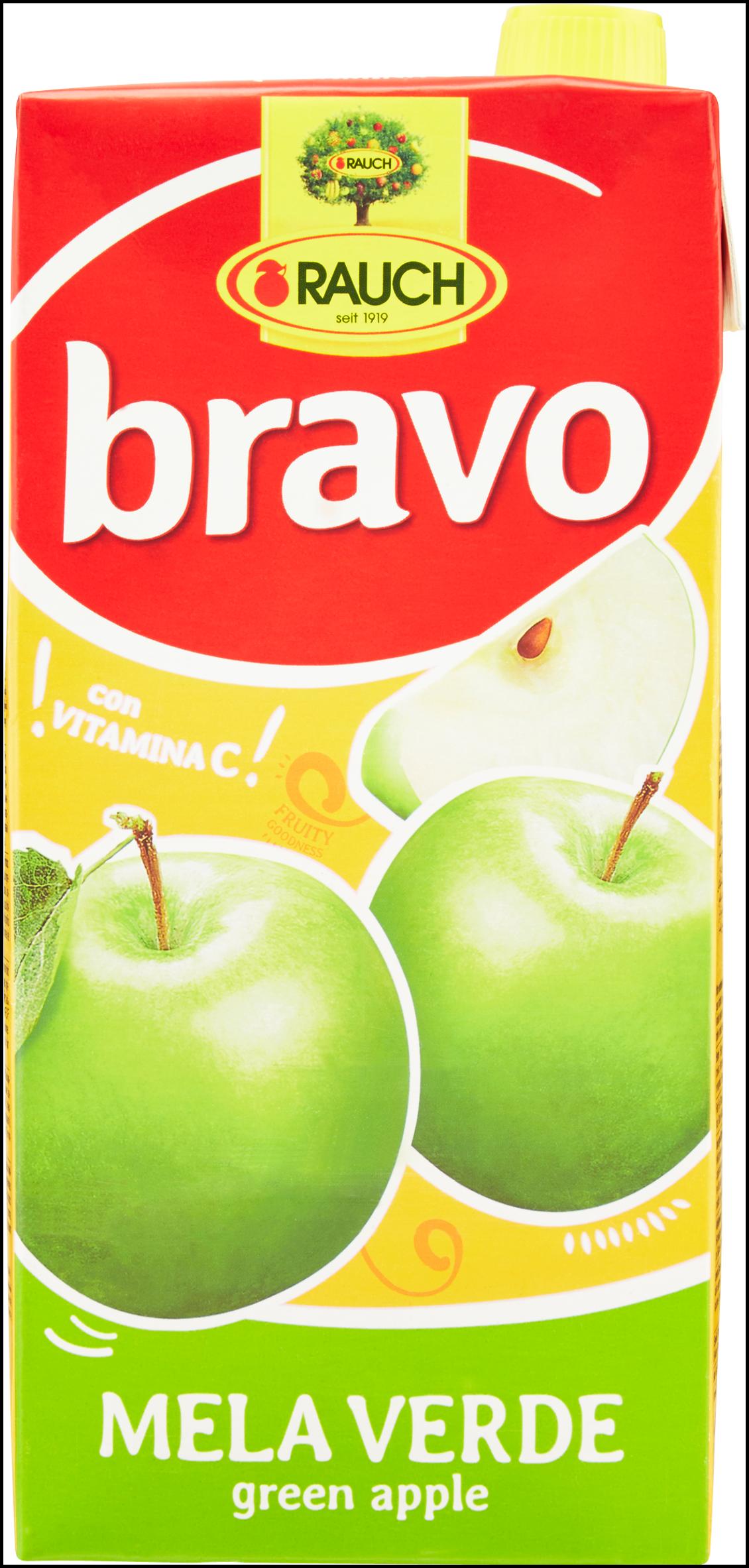 BEVANDA BRAVO RAUCH 2L MELA VERDE