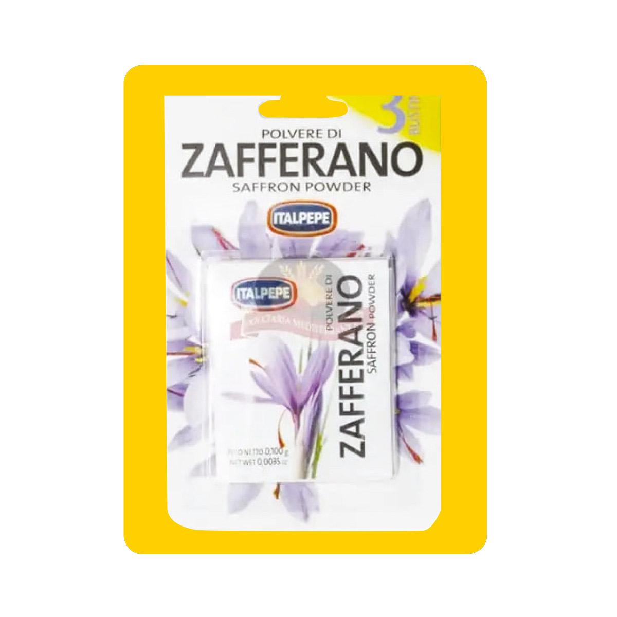 ITALPEPE ZAFFERANO 3 BUSTE IN BLISTER