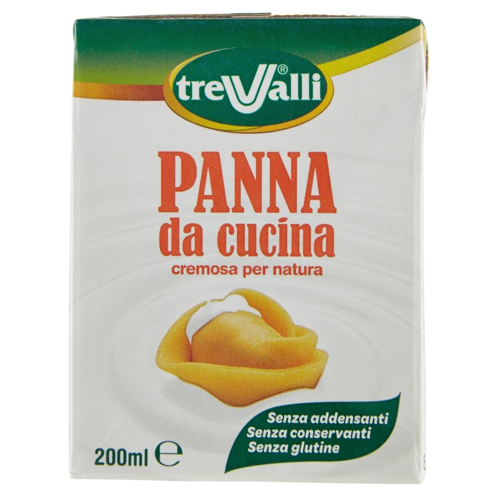TREVALLI PANNA DA CUCINA UHT 200ML
