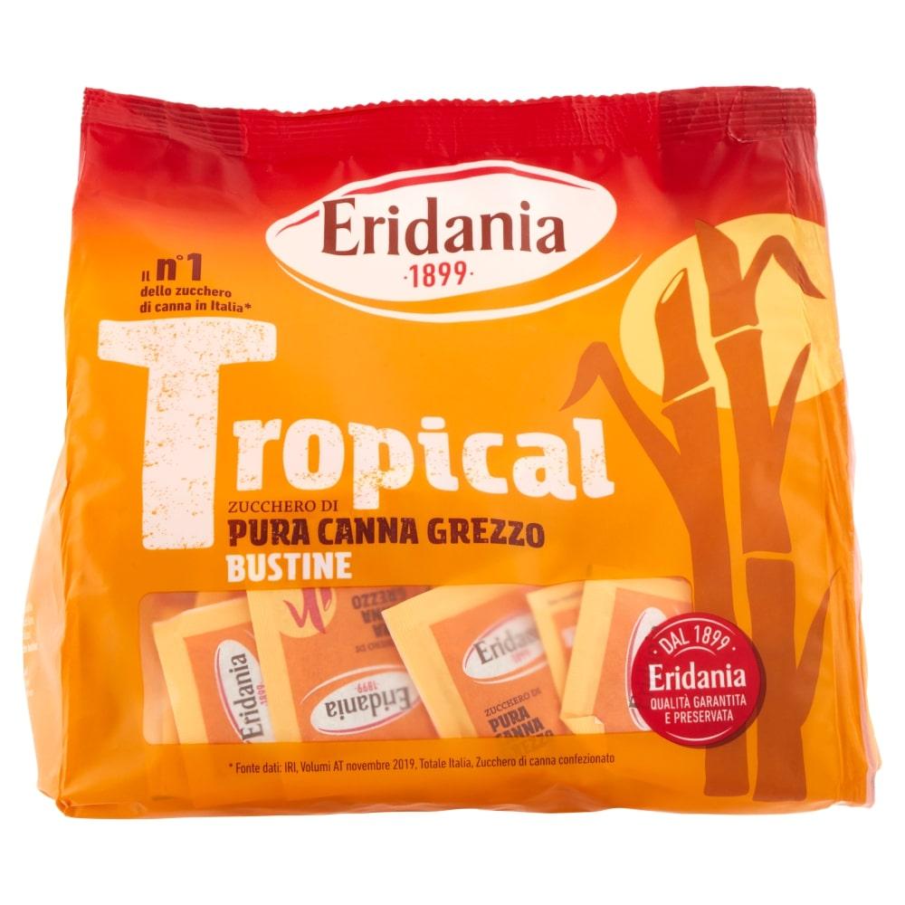 ERIDANIA ZUCCHERO CANNA GREZZO BUSTINE 500GR