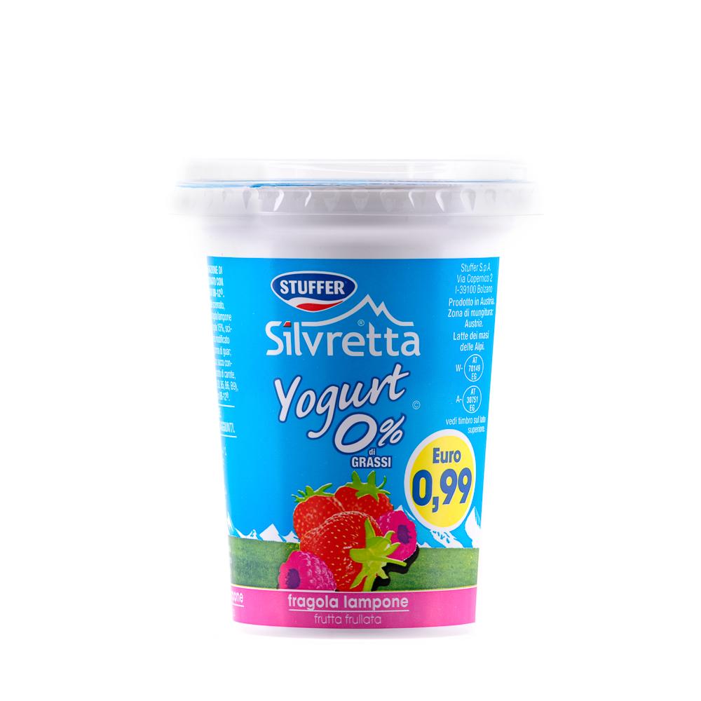 STUFFER SILVRETTA FRAGOLA 0% FLASH400GR