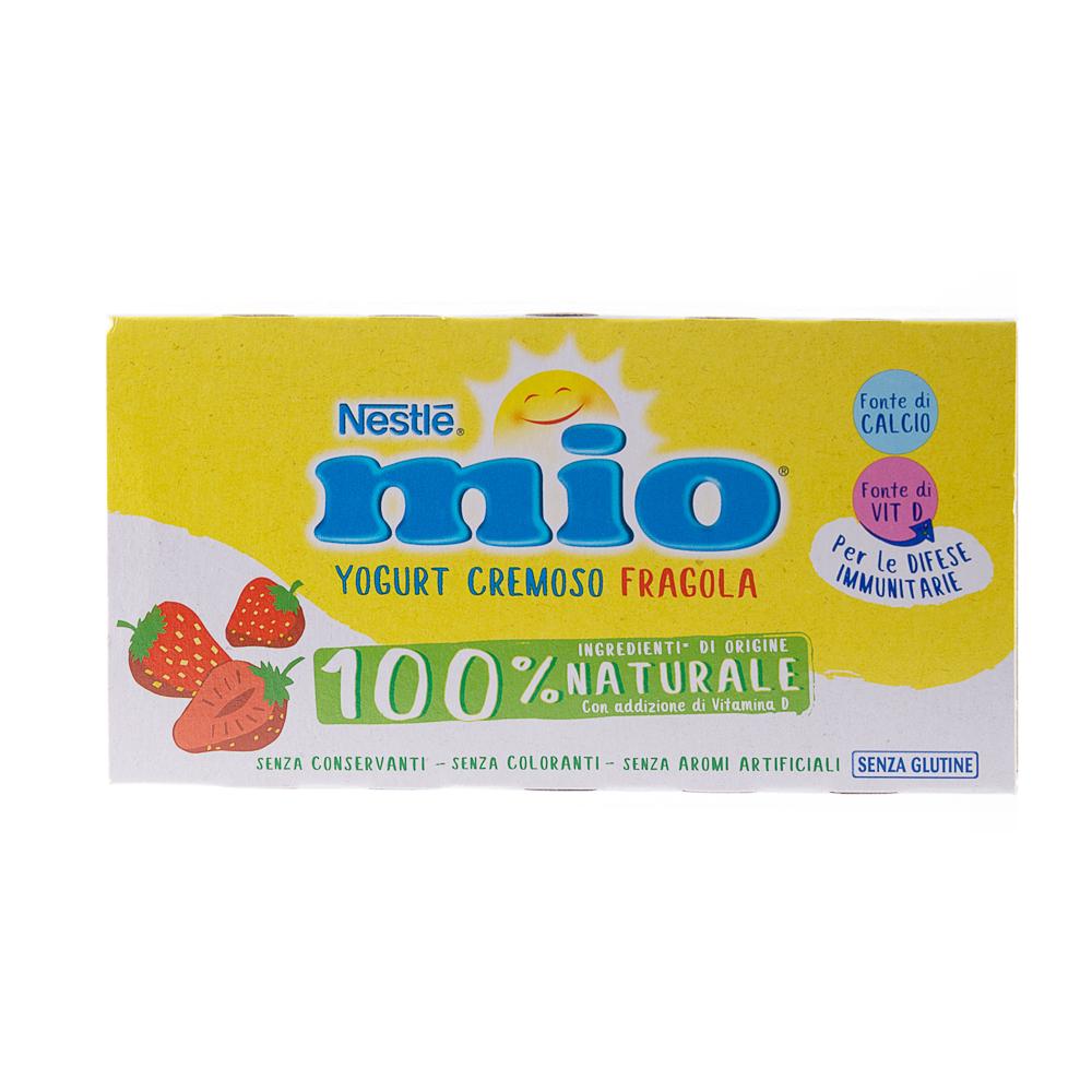 MIO YOGURT FRAGOLA 2X125GR