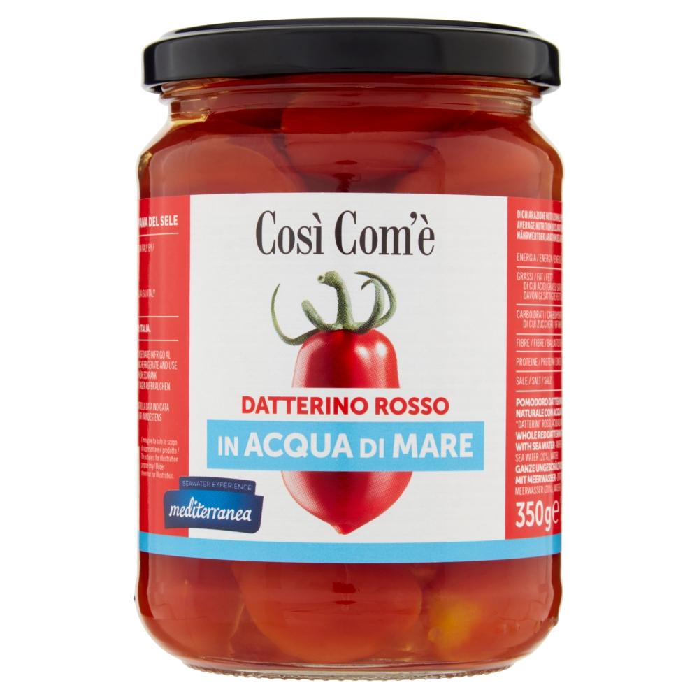 COSI COME  DATTERINO ROSSO IN ACQUA DI MARE 350GR