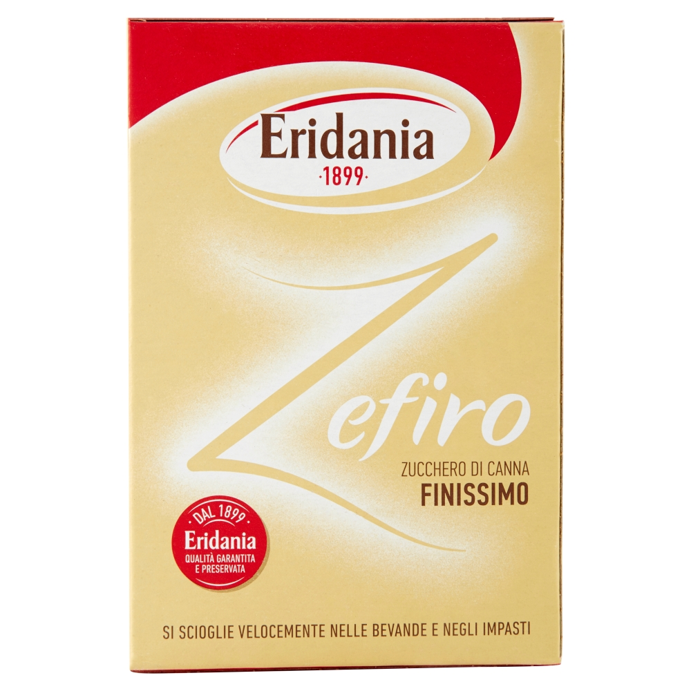 ERIDANIA ZEFIRO ZUCCHERO CANNA  750GR