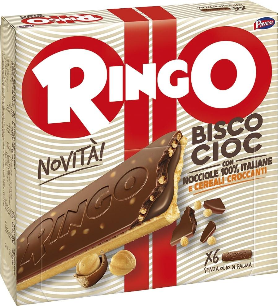 RINGO BISCOCIOC NOCCIOLA 162GR