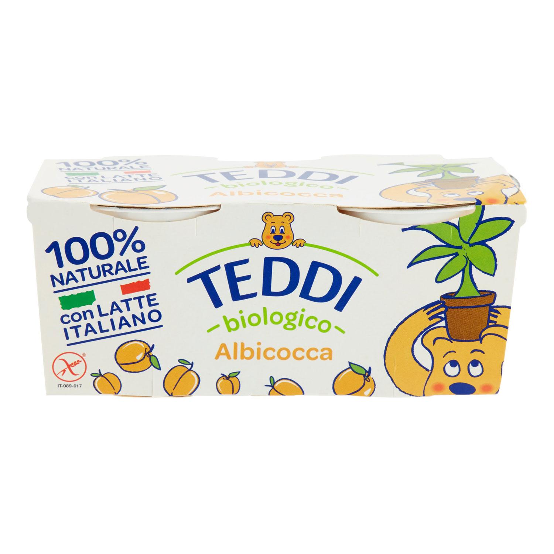2 YOGURT TEDDY ALBICOCCHE