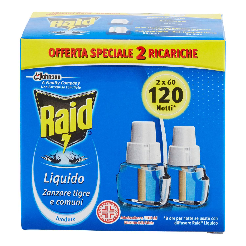LIQUIDO RICARICA 120NOTTI 8 ( 2 X 60NOTTI)