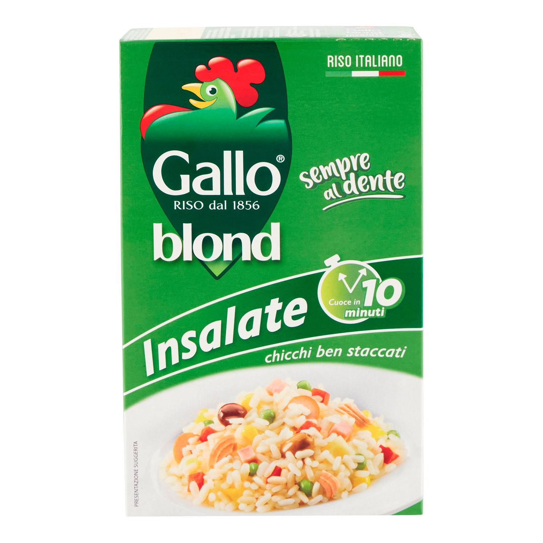 RISO GALLO BLOND INSALATE 10'