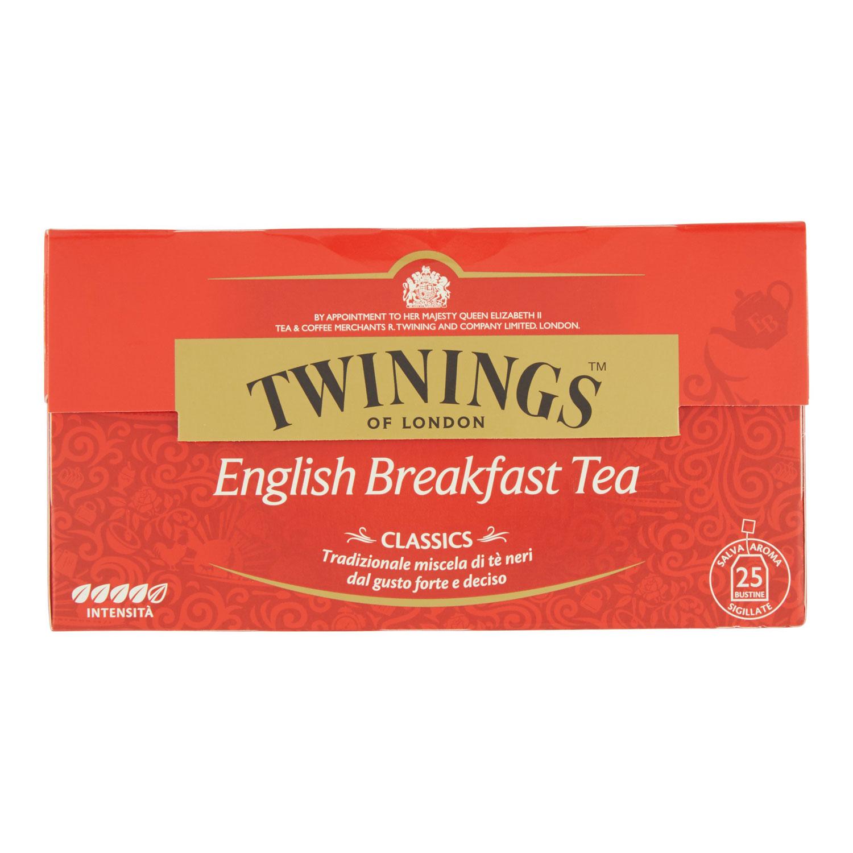 TEA ENGLISH BREAKFAST 25 FILTRI