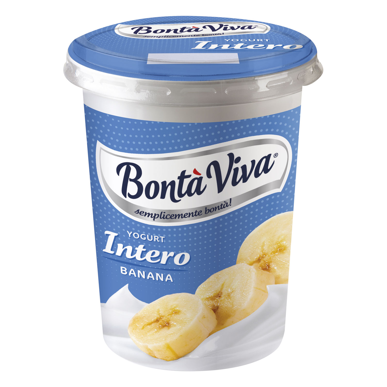 YOGURT BONTÀ ALLA BANANA