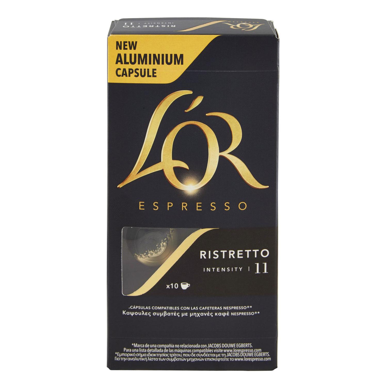ESPRESSO RISTRETTO 11 10 CAPSULE
