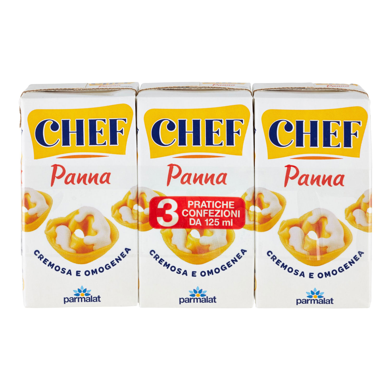 PARMALAT UHT PANNA CHEF 3X125ML