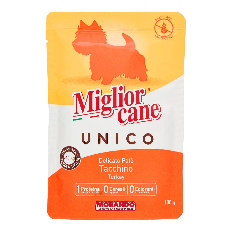 DELICATO PATE'  TACCHINO - UNICO MIGLIORCANE