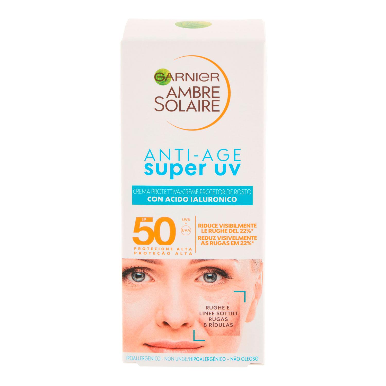 AMBRE SOLAIRE CREMA SUPER UV ANTIAGE 50ML SPF50+