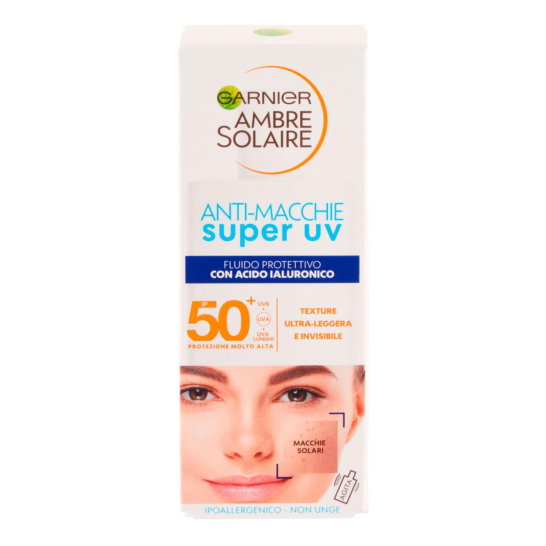 AMBRE SOLAIRE CREMA  SUPER UV ANTIMACCHIE 40ML P50+