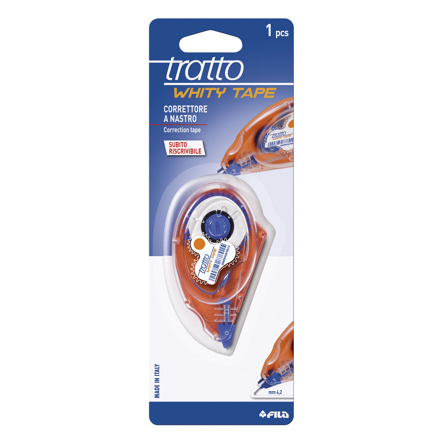 bl. 1 tratto whity correction tape