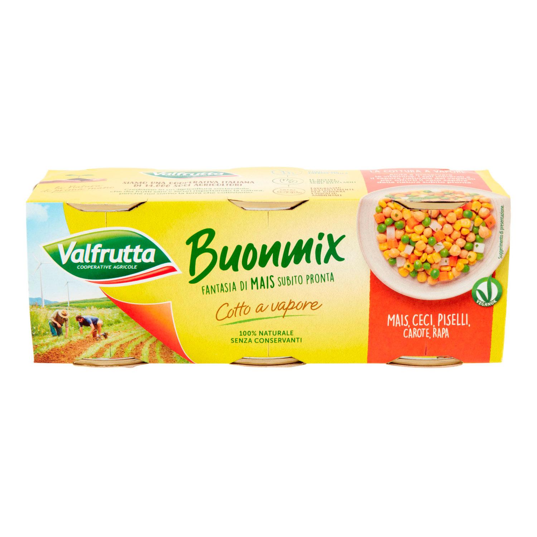BUONMIX VALFRUTTA ARANCIONE 140GR X3