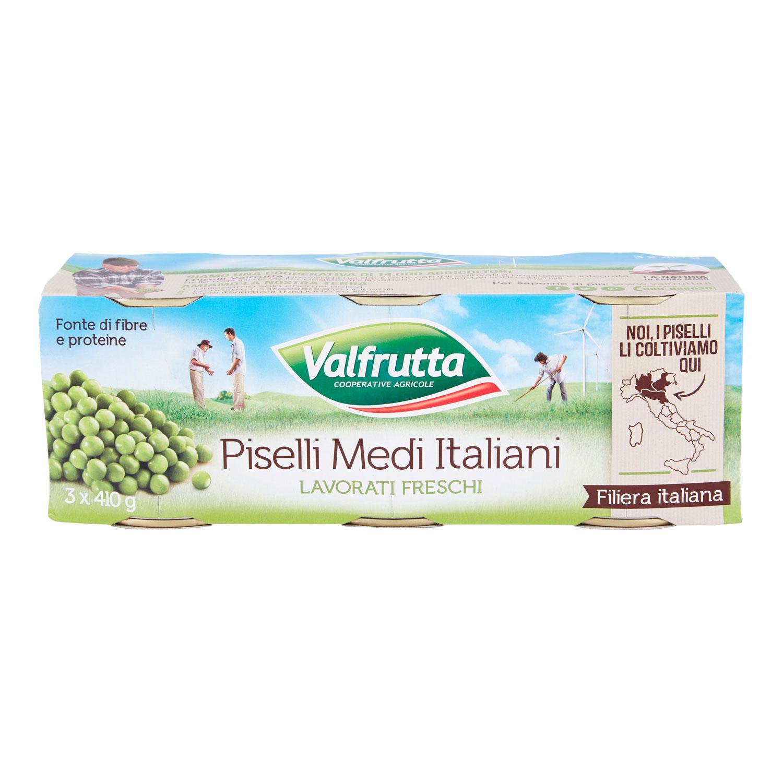 VALFRUTTA PISELLI MEDI 3X400GR