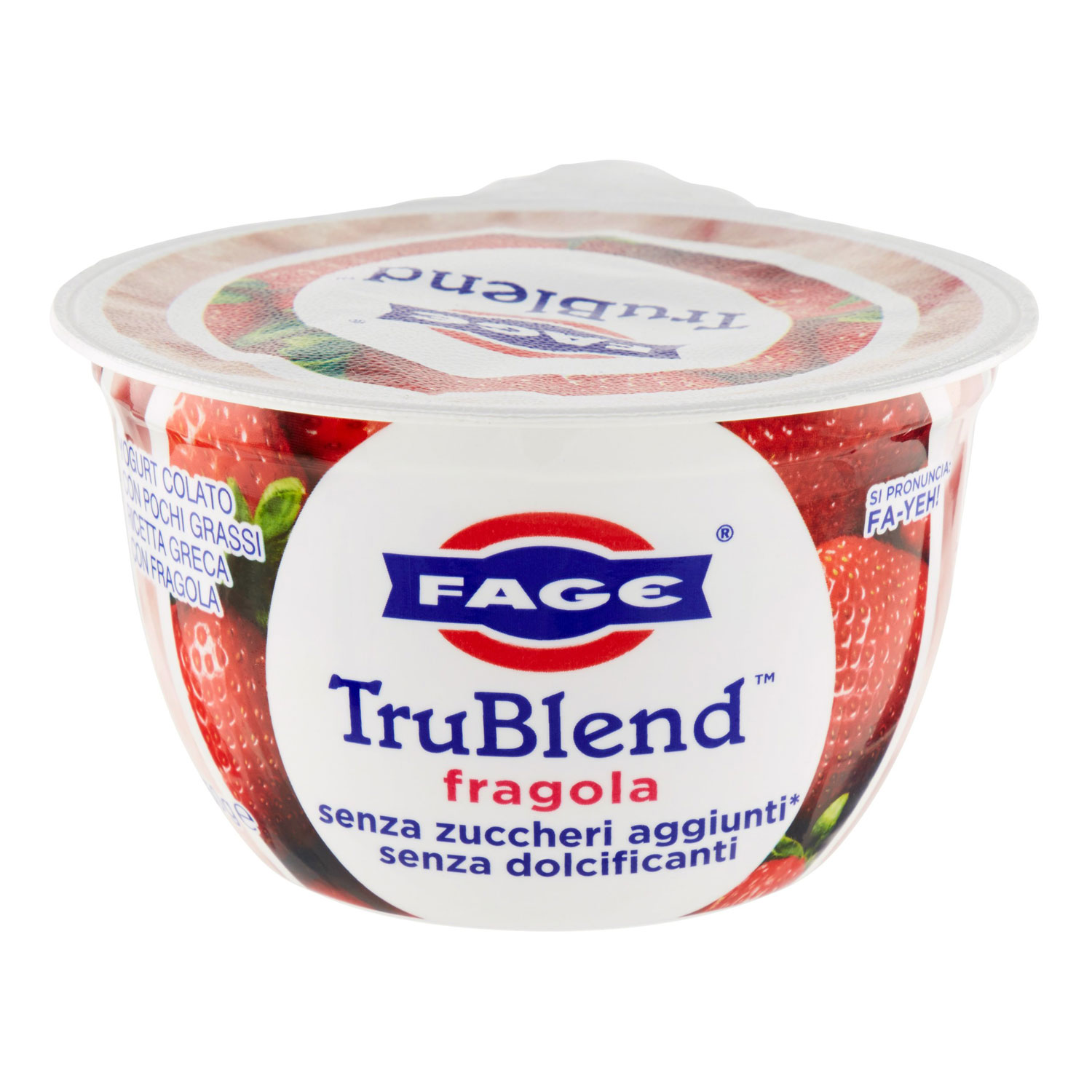 YOGURT  TRUBLEND FRAGOLA