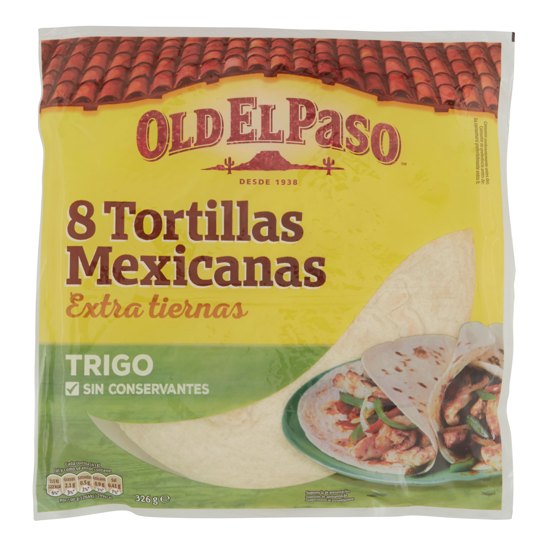 TORTILLAS MEXICANAS DE TRIGO