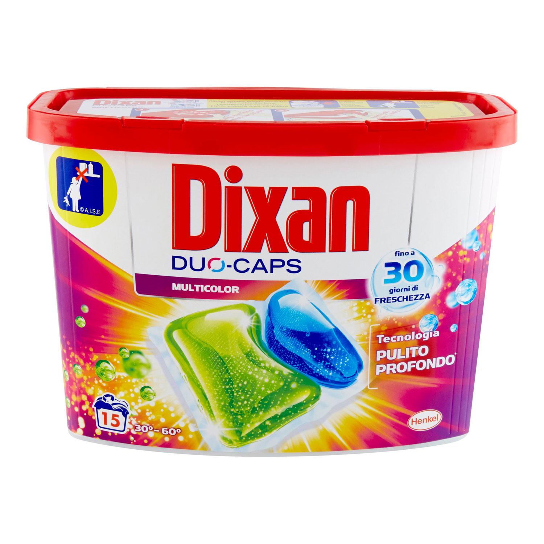 DIXAN DUO-CAPS 15 PZ COLOR GR 345
