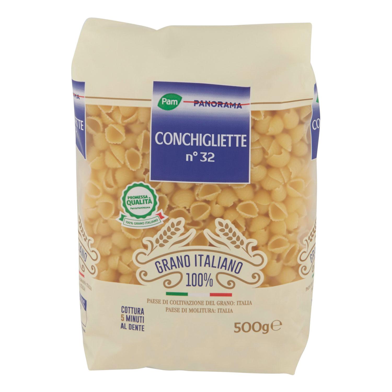 CONCHIGLIE GRANO ITALIANO 100%