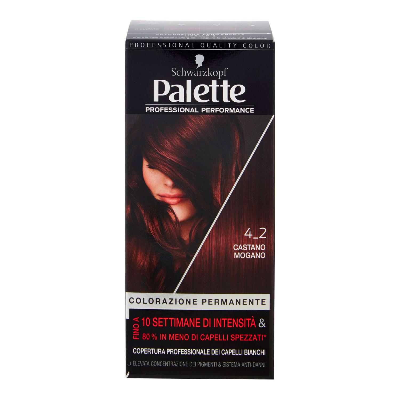 PALETTE COLORAZIONE PERMANENTE  4.2_CASTANO MOGANO