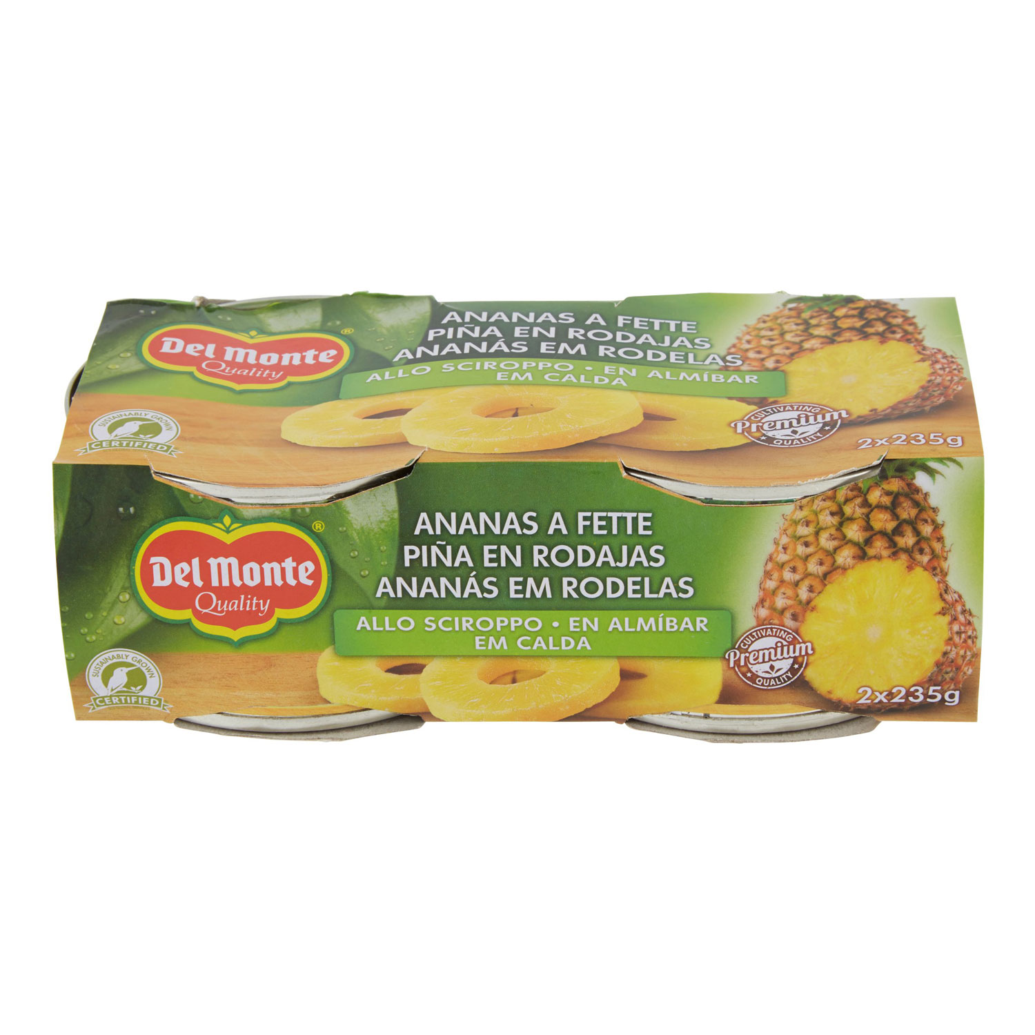 ANANAS A FETTE SCIROPPATE 2X235