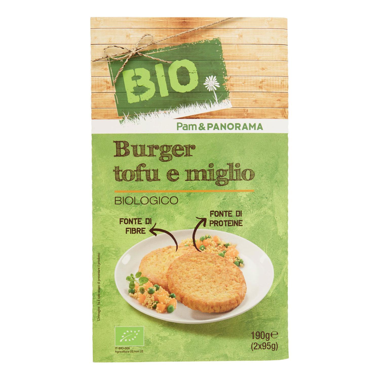 BURGER TOFU MIGLIO