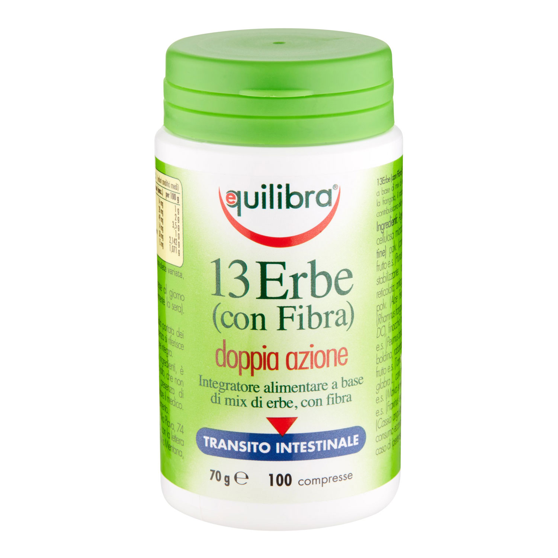 13 ERBE CON FIBRA100 COMPRESSE