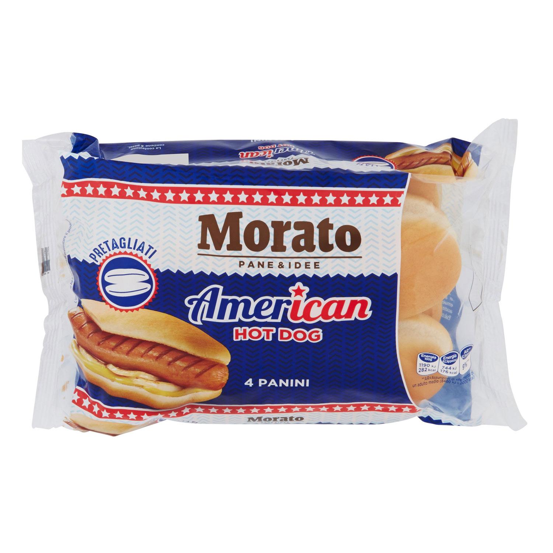 AMERICAN HOT DOG PRE TAGLIATO