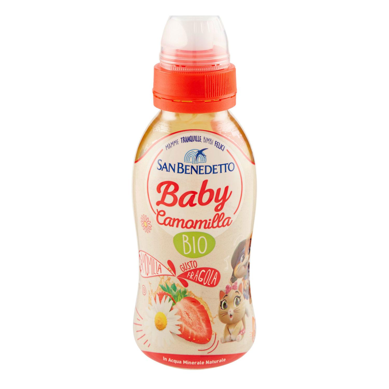 BABY  DRINK FRAGOLA BIO CAMOMILLA CL25 PULLPUSH
