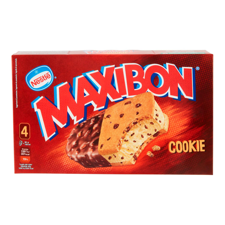 4 MAXIBON COOKIE NESTLÈ