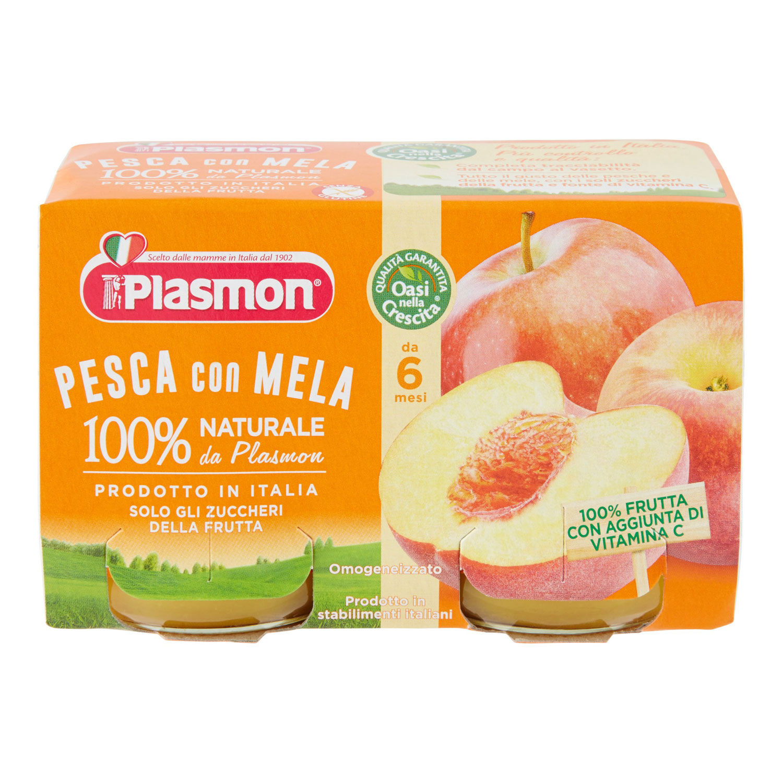 OMO PLASMON  PESCA 2X104GR