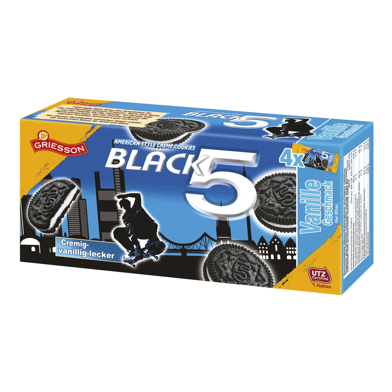 BISCOTTO BLACK X 5 GR 180