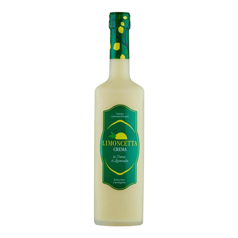 Crema di limoncetta di sorrento 17 gradi - 50 cl
