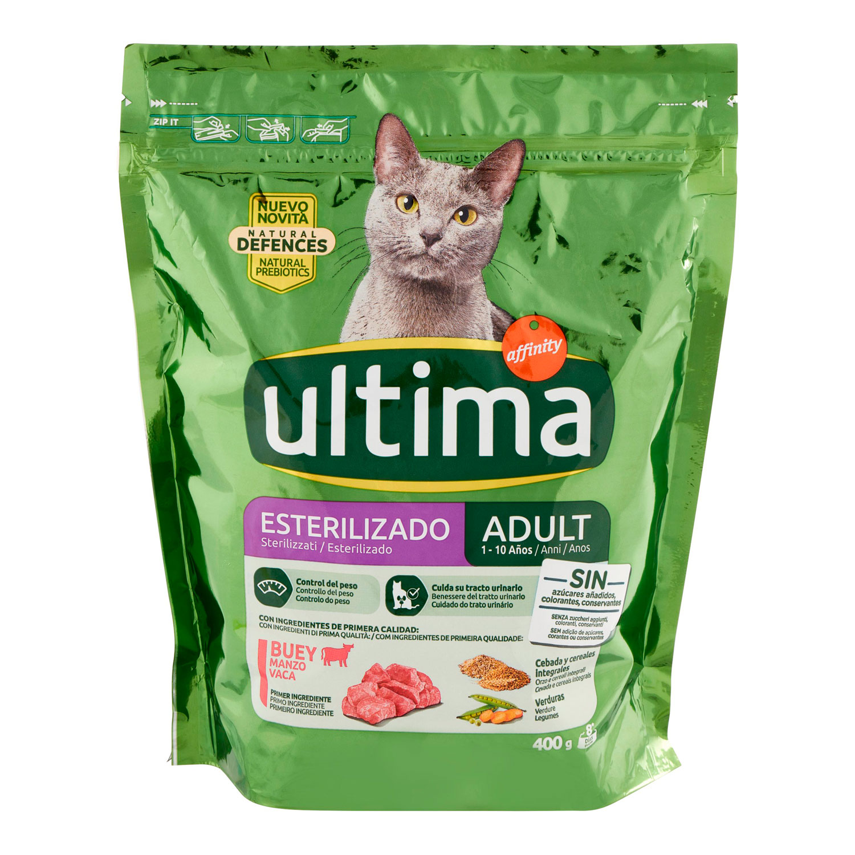 CAT STERILIZZATI ADULT 1 - 10 ANNI  MANZO