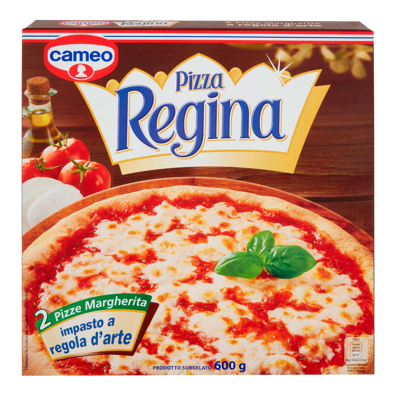 2 PIZZA REGINA MARGHERITA